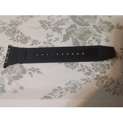 Apple Watch Band, Spigen® Apple Watch Strap (42mm) [HYBRID POLYMER] Rugged Band Black [ULTRA COMFORT] (2015) - Black