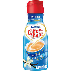 Coffee-mate Coffee Creamer, Fat Free French Vanilla