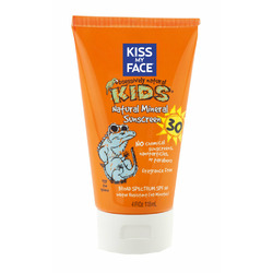 Kiss my face mineral sunscreen for kids