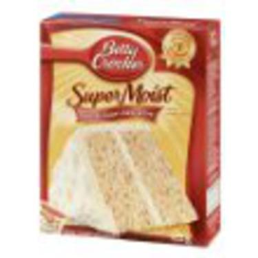 Betty Crocker Cherry Chip Super Moist Cake Mix