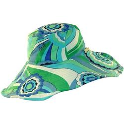 Juicy Couture Designer Hats Blue Multi Color Reversible Sun 498 Designer Cap