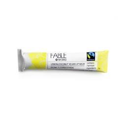 Fable Naturals Lemon-Coconut Vegan Lip Balm