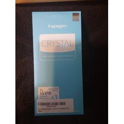 LG V10 Screen Protector, Spigen® [Crystal] Full HD [CR] JAPANESE BASE PET FILM Premium Ultra Clear for LG V10 - CR (SGP11790)