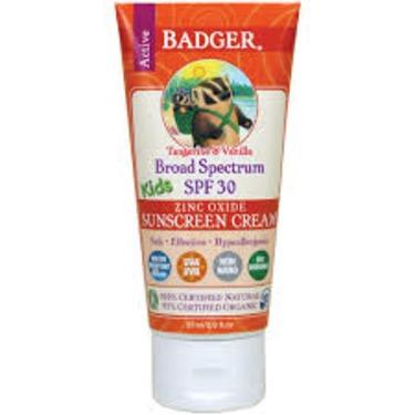 badger kids sunscreen 30 spf