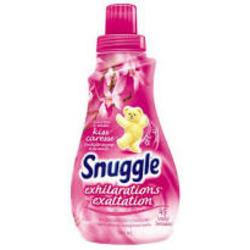 Snuggle Exhilarations fabric softener in wild orchid & vanilla kiss