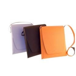 San Lorenzo Recycled Dot Leather Messenger Bag