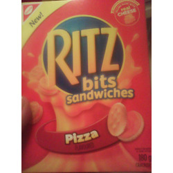 Ritz Bits sandwiches pizza