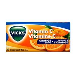 Vicks vapodrops orange