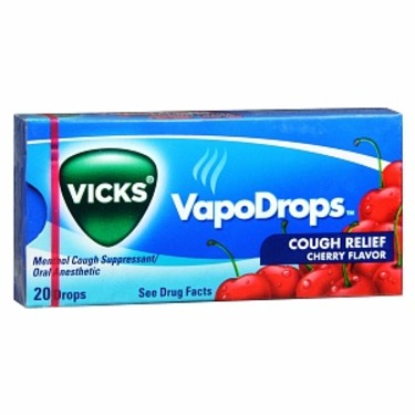 vicks vapodrop cherry
