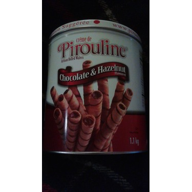 Creme de Pirouline chocolate & hazelnut flavoured