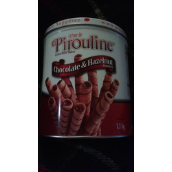 Creme de Pirouline chocolate & hazelnut flavoured