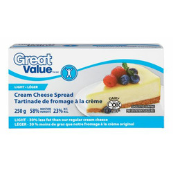 Great Value Light Cream Cheese