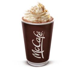 Mcdonald's deluxe hot chocolate