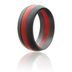 SOL Silicone Wedding Ring for Men