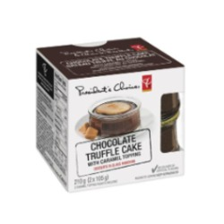 president choice chocolate truffle cake
