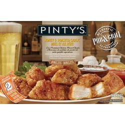 Pinty's Pub & Grill Boneless Honey & Roasted Garlic Boneless Chicken Wings
