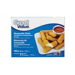 Great Value Mozzarella sticks