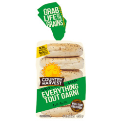 Country Harvest Bagels in Everything