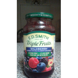 E.D. Smith Triple Fruits Wild berry Raspberry with Wild Blueberry & Blackberry