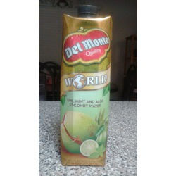 Del Monte Lime, Mint and Aloe Coconut water