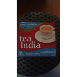 Tea India orange pekoe black tea