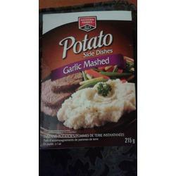 Western Family Potato Side Dishes Garlic Mashed