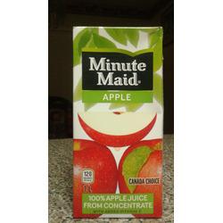 Minute Maid Apple Juice