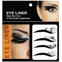 eye liner decoration
