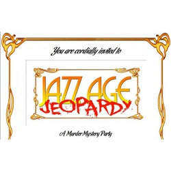 Playing With Murder Game - Jazz Aged Jeopardy