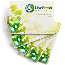 LiveFresh Blotting Paper