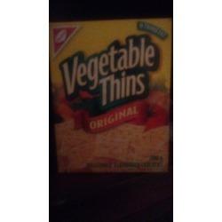 Vegtable crackers