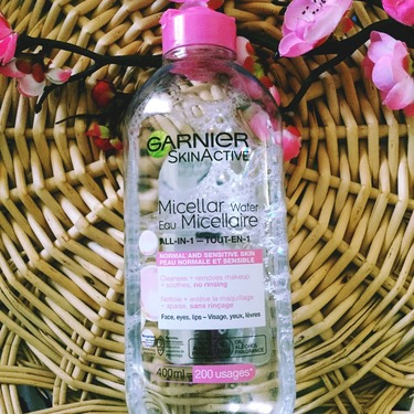 Garnier SkinActive Micellar Water All-In-1 Normal and Sensitive Skin Cleansing Water