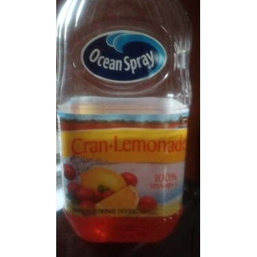Ocean Spray Cran lemonade juice