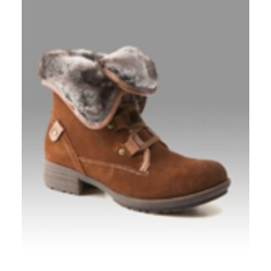 """Denver Hayes """"Angela"""" fur trimmed boots"""