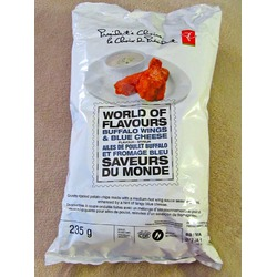 President's Choice World of Flavors Buffalo Wings and Blue Cheese Chips
