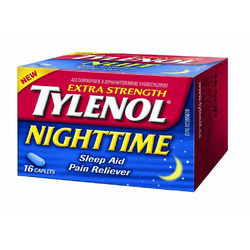 Tylenol Nightime Extra Strength Sleep Aid & Pain Reliever
