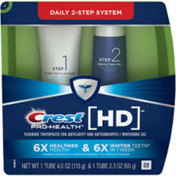 Crest Pro-Health HD Daily Two-Step Toothpaste