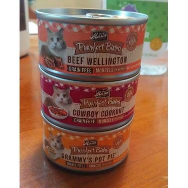Merrick Purrfect Bistro Grain Free: Assorted Flavours