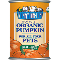 Nummy Tum Tum 100% Pure Organic Pumpkin For All Your Pets