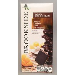 Brookside Chocolate Tablet Bar in Mango Coconut Crunch