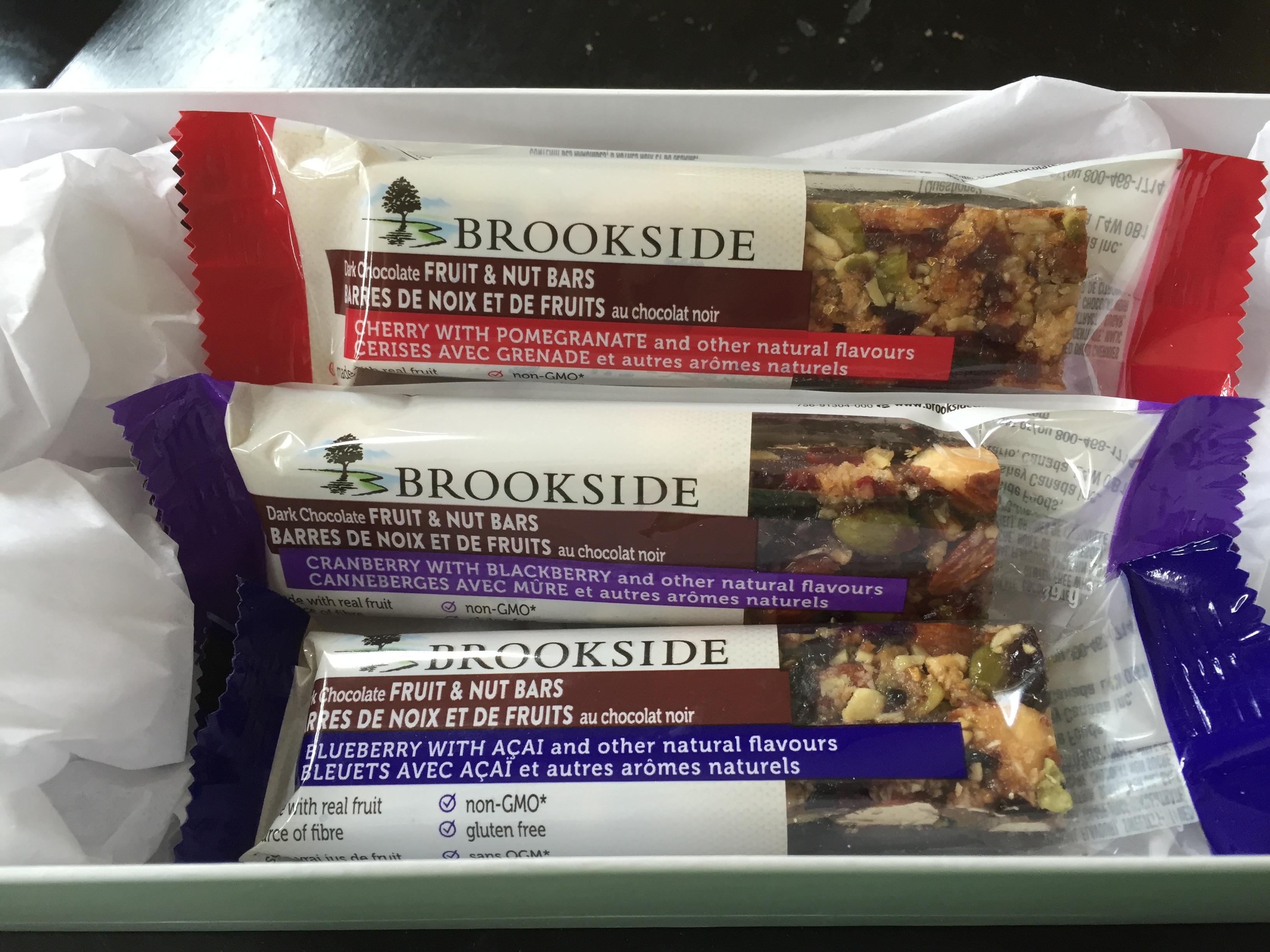 Brookside Dark Chocolate Fruit & Nut Bars - Blueberry with Acai ...