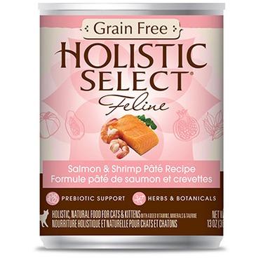 Holistic Select Grain Free Salmon & Shrimp Pate Recipe