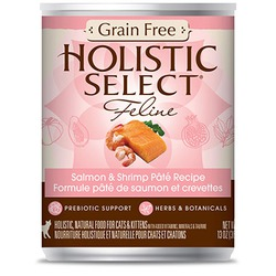 Holistic Select Grain Free Salmon & Shrimp Pate Recipe