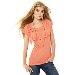 mark Girly Ruffle Top