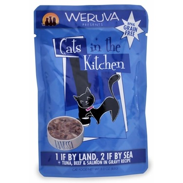 Weruva Cats in the Kitchen 1 if by Land, 2 if by Sea