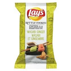 Lays wasabi ginger potato chips