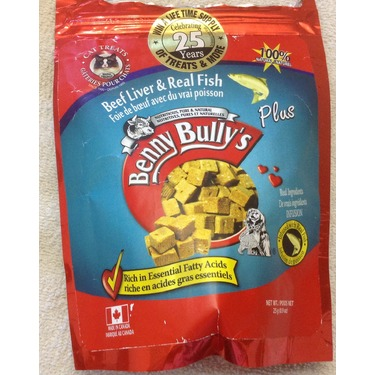 Benny Bully's Beef Liver & Real Fish Cat Treats