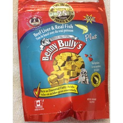 Benny Bully's Beef Liver & Real Fish Cat Treats