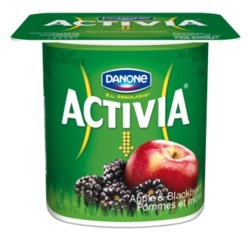 Danone Activia in Apple and Blackberry