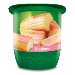 Danone Activia in Strawberry and Rhubarb